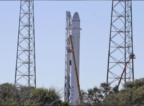 News video: SpaceX Cargo Launch Is 'Good To Go' Despite Space Station Glitch